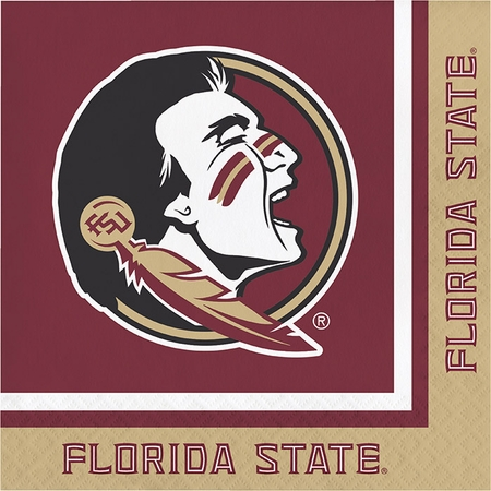Florida State University Luncheon Napkins 240 ct