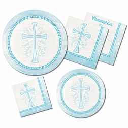 Divinity Blue Party Supplies