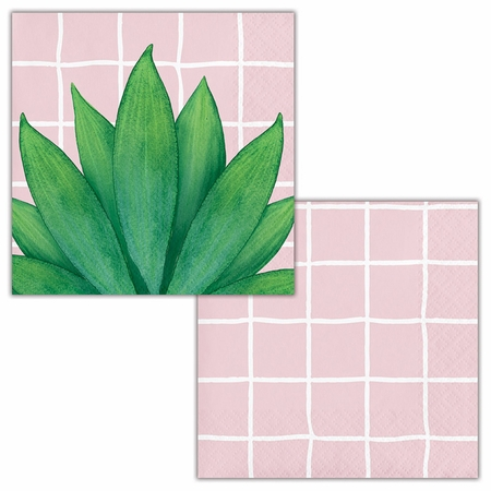 Palm Deco Luncheon Napkins by Elise 192 ct