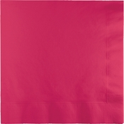 Hot Magenta Dinner Napkins 3 Ply 250 ct
