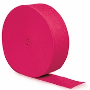 Hot Magenta Pink 500 Streamers 12 ct
