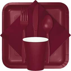 For modern appeal at budget friendly prices, shop our Burgundy tableware products from the Touch of Color collection.