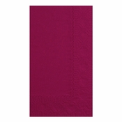 Burgundy Hoffmaster Dinner Napkins in quantities of 125 / pkg, 8 pkgs / case