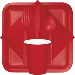 For modern appeal at budget friendly prices, shop our Classic Red tableware products from the Touch of Color collection.