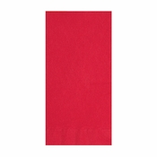 Embossed Classic Red Dinner Napkins in quantities of 125 / pkg, 8 / case