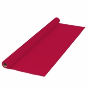 Red Plastic Banquet Table Roll is sold in quantities of 1 / pkg, 1 pkg /case