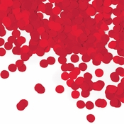 Classic Red Tissue Confetti 12 ct