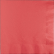 Coral Party Napkins
