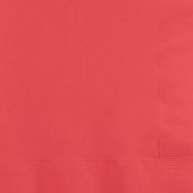 Coral Dinner Napkins 3 Ply 250 ct