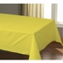"54"" x 108"" Sun Yellow Paper Tablecloth 25 ct"