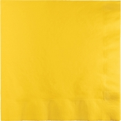School Bus Yellow Dinner Napkins 3 Ply 250 ct
