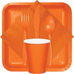 For modern appeal at budget friendly prices, shop our Sunkissed Orange tableware products from the Touch of Color collection.