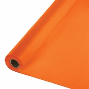 Touch of Color Sunkissed Orange Banquet Table Roll in quantities of 1 / pkg, 1 pkg / case