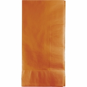 Pumpkin Spice Orange Dinner Napkins 2Ply 600 ct