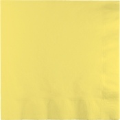 Touch of Color Mimosa 2 Ply Luncheon Napkins in quantities of 50 / pkg, 12 pkgs / case