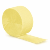 Touch of Color Mimosa Crepe Streamer in quantities of 1 / pkg, 12 pkgs / case