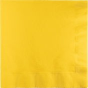 School Bus Yellow Luncheon Napkins 3 ply 500 ct