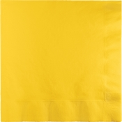 School Bus Yellow 2 Ply Luncheon Napkins 900 ct