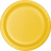 School Bus Yellow Dessert Plates 900 ct