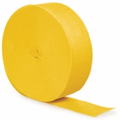 School Bus Yellow Streamers 500 12 ct