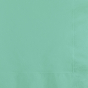 Fresh Mint Green 2 Ply Beverage Napkins 600 ct