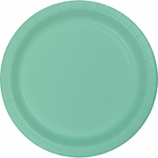 Fresh Mint Green Dessert Plates 240 ct