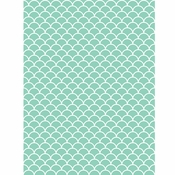 Mint Scallop Photo Backdrops 6 ct