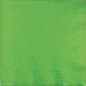 Fresh Lime Green Dinner Napkins 3 Ply 250 ct