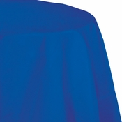 Cobalt Blue Round Paper Tablecloths