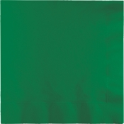 Touch of Color Emerald Green 2 Ply Luncheon Napkins in quantities of 50 / pkg, 12 pkgs / case