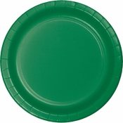 Emerald Green Dinner Plates 96 ct