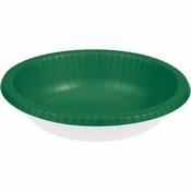 Emerald Green Paper Bowl