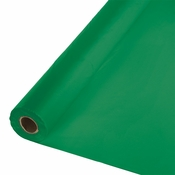Touch of Color Emerald Green Banquet Table Roll in quantities of 1 / pkg, 1 pkg / case