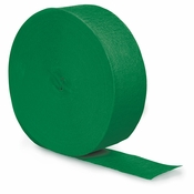 Emerald Green Streamer 500 12 ct