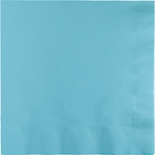 Pastel Blue Luncheon Napkins 3 ply 500 ct