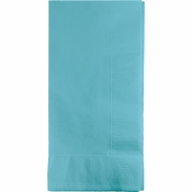 Touch of Color Pastel Blue 2 Ply Dinner Napkins in quantities of 50 / pkg, 12 pkgs / case