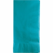 Touch of Color Bermuda Blue 2 Ply Dinner Napkins 600 ct in quantities of 50 / pkg, 12 pkgs / case