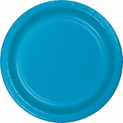 Touch of Color Turquoise Banquet Plates in quantities of 24 / pkg, 10 pkgs / case