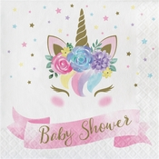 Unicorn Baby Shower Luncheon Napkins 192 ct