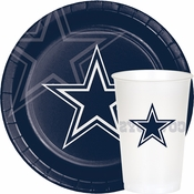 Blue and silver Dallas Cowboys Party Supplies