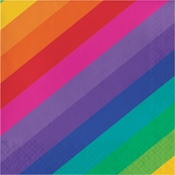 Rainbow Luncheon Napkins 192 ct