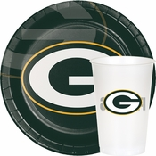 Green and yellow Green Bay Packers Party Supplies