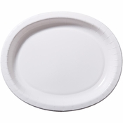 White Oval Platters 350 ct