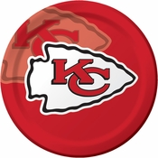 Kansas City Chiefs Dinner Plates