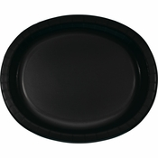 Black Velvet Oval Platters sold in quantities of 8 / pkg, 12 pkgs / case.