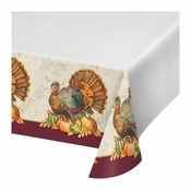 Traditional Turkey Plastic Tablecloths 12 ct