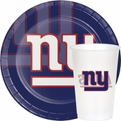 Blue, red and white New York Giants Party Supplies