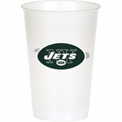 New York Jets 20 oz Plastic Cups