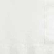 White 2 Ply Beverage Napkins 1200 ct