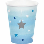 One Little Star Boy Cups 96 ct